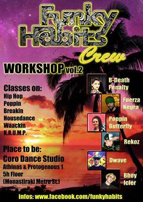 HIP-HOP WORKSHOP JUNE 29&30, 2013